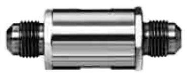 """3/8"""" Stainless Steel Dual Check Valve Assembly - Male Flare, 200 psi"""