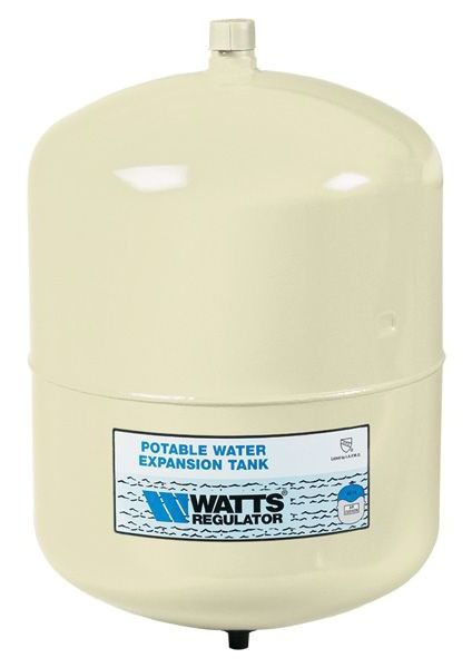 2.1 Gallon In-Line Water Heater Expansion Tank - Steel, 150 psi