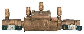 """1"""" Cast Copper Silicon Alloy Dual Check Valve Assembly - FPT, 175 psi"""