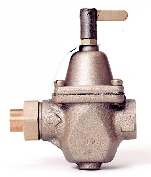 Threaded Union Pressure Regulator, Bronze