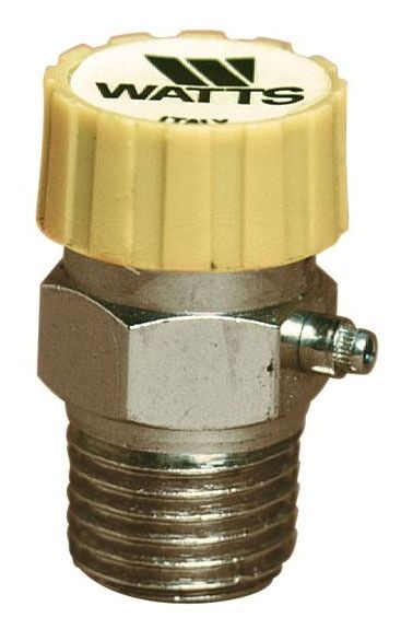"1/8"" MPT Brass Automatic Air Vent"