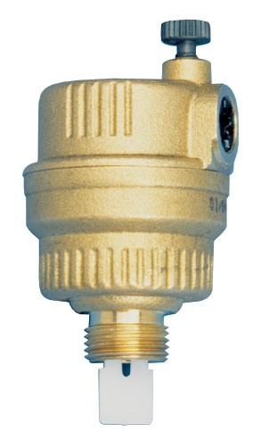 """1/4"""" MPT Brass Automatic Air Vent"""