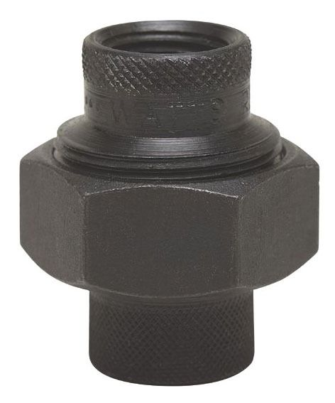 "1"" Black Dielectric Straight Union - FPT"