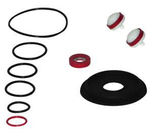 "Reduced Pressure Zone Valve Part Kit - Rubber, 1/4"" to 1/2"" Valve"
