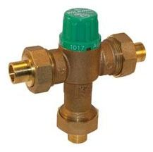 "3/4"" Threaded Mixing Valve, Cast Bronze"