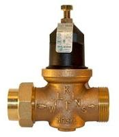 "1"" Cast Bronze Water Pressure Reducing Valve - FPT Union x FPT, 400 psi"