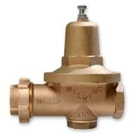 "2-1/2"" Cast Bronze Water Pressure Reducing Valve - FPT x FPT, 300 psi"