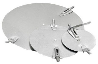 """6"""" Round Duct Damper, Galvanized Steel"""