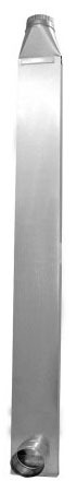 Dryer Vent, Galvanized Steel