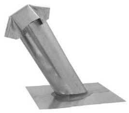 """7"""" Roof Jack, Galvanized Steel"""