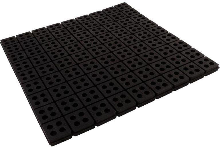 18 X 18 Anti Vibration Pad, Rubber