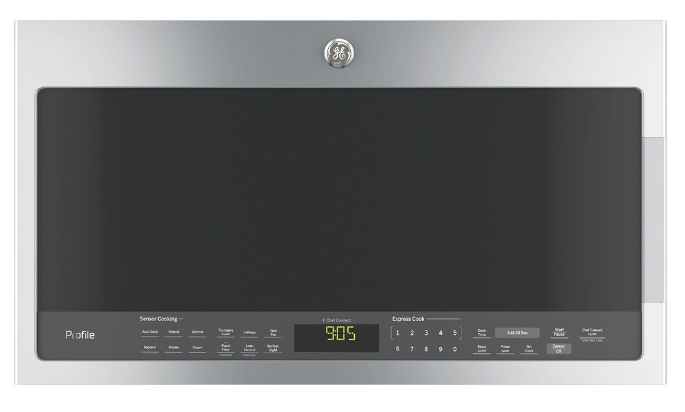 MICROWAVE OVEN STAINLESS STEEL BOTTOM CONTROL OTR, 400 CFM