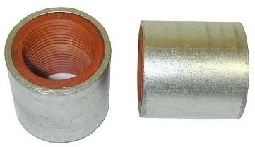 "3/4"" Cadmium Plated Steel Straight Coupling - FPT, 125 psi"