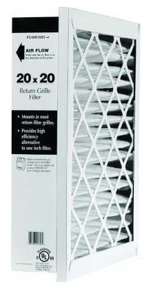"""16 X 25"""" Pleated Return Grille Air Filter"""