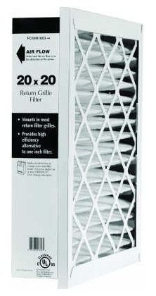 """20 X 30"""" Pleated Return Grille Air Filter"""