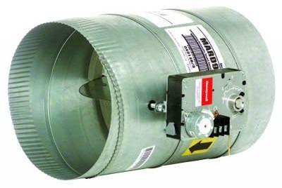 """10"""" Galvanized Steel Round Modulating Damper"""