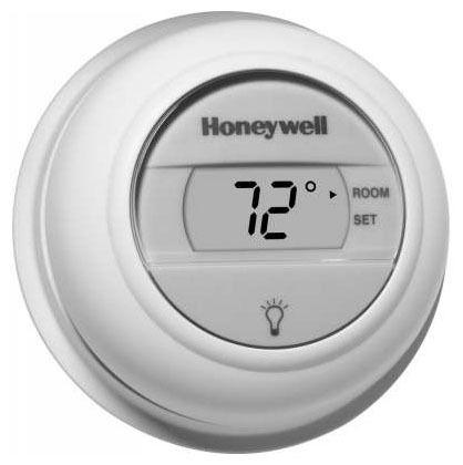 1 Heat Digital Non-Programmable Thermostat, Premier White