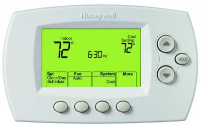 5-2 Day Programmable Thermostat - FocusPRO / RedLINK