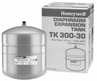 7.6 Gallon Heavy Duty Water Heater Expansion Tank - Drawn Steel, 100 psi
