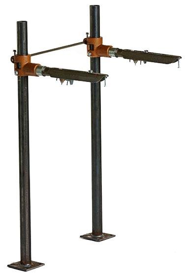 """19"""" Floor Mount Upright Bathroom Sink Support Arm"""
