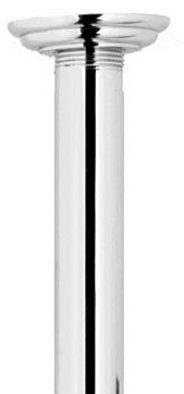 "42"" Straight Shower Arm, PVD Satin Nickel"
