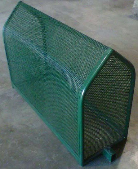 """26"""" x 16"""" x 35"""" Backflow Preventer Enclosure - Powder Coated Expanded Metal"""