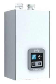 Propane Hot Water Gas Boiler, 439 Stainless Steel