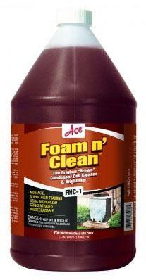 Clear Liquid Coil Cleaner, Dark Brown