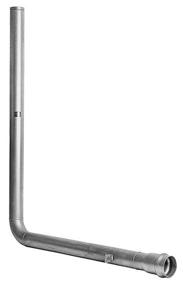 Grooved End Riser Tube, Lead-Free 304 Stainless Steel