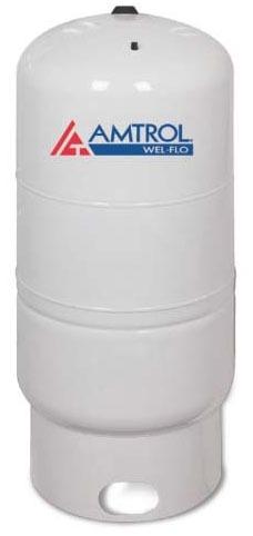 34 Gallon Vertical Diaphragm Well Tank - WEL-FLO, Light Gray, Deep Drawn Steel
