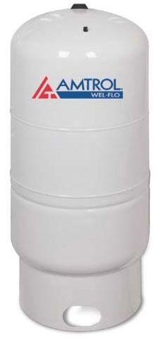 119 Gallon Vertical Diaphragm Well Tank - WEL-FLO, Light Gray, Deep Drawn Steel