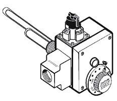 "Water Heater Gas Control Valve 10"" Manifold Pressure Setting"