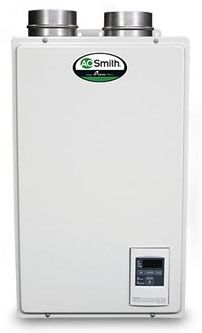 Tankless Water Heater, Natural Gas - Indoor, 6.6 GPM, 120K BTU, Residential Use, 120V