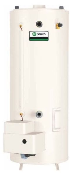 100 Gallon Natural Gas Commercial Water Heater - Master-Fit Ultra-Low NOx, 199000 BTU
