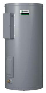 50 Gallon Lowboy Commercial Electric Water Heater - Dura-Power, 5 kW, 208 Volt 3 Phase 60 Hertz