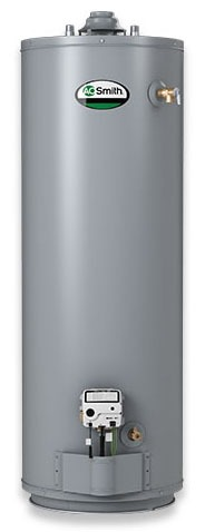 40 Gallon Tall Propane Gas Residential Water Heater - ProLine Atmospheric Vent, 36000 BTU, With Magnesium Anode