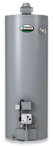 50 Gallon Natural Gas Residential Water Heater - ProLine XE High Efficiency Flue Damper, 40000 BTU