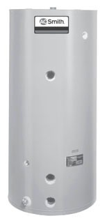 400 Gallon Jacketed Water Heater Storage Tank - Glass Lined