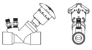 "3/4"" Circuit Balancing Valve - ARMflo, Brass, Soldered, 1.99 to 13.76 GPM"