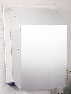 1200 CFM Exterior Range Hood Blower, Aluminum