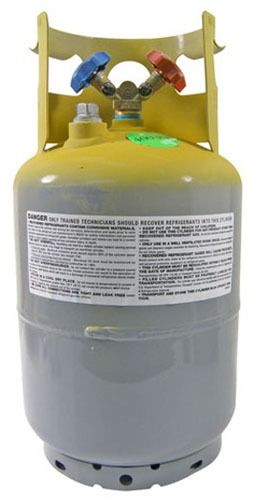 400 psi Refrigerant Recovery Tank - 50 Lb