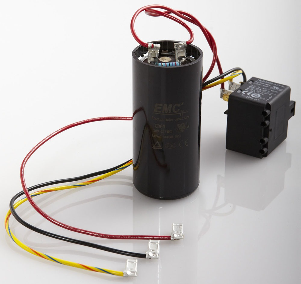 270 to 374 Microfarad Scroll / Reciprocating Compressor Hard Start Kit - 5-2-1 Compressor Saver