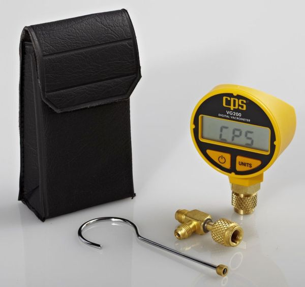 Self-Heated Thermistor Bridge Sensor Vacuum Gauge
