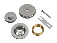 1-Hole Waste and Overflow Conversion Finish Kit - AB&A, Oil Rubbed Bronze