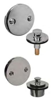 2-Hole Waste and Overflow Finish Kit - AB&A, Oil Rubbed Bronze