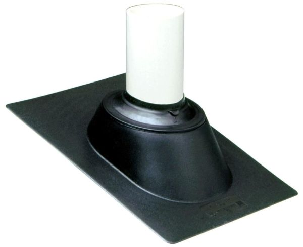 Adjustable Roof Vent Flashing, Thermoplastic