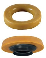 Petroleum Wax Closet Gasket with Plastic Horn - Water-Tite