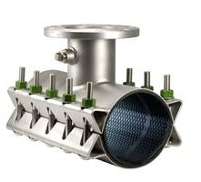 """8"""" Stainless Steel Tapping Sleeve - 6"""" Flange, 8.98"""" to 9.37"""" OD, with Bolt"""