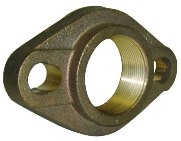 Lead-Free Brass Straight Meter Flange
