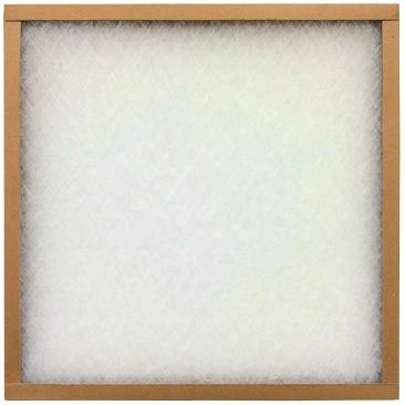 "10"" x 20"" Panel Air Filter - EZ Flow II, Spun Glass, MERV 4, Case Of 12"